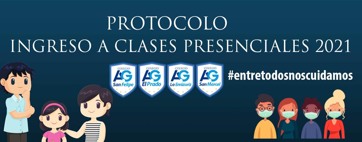 Protocolo retorno a clases presenciales 2021