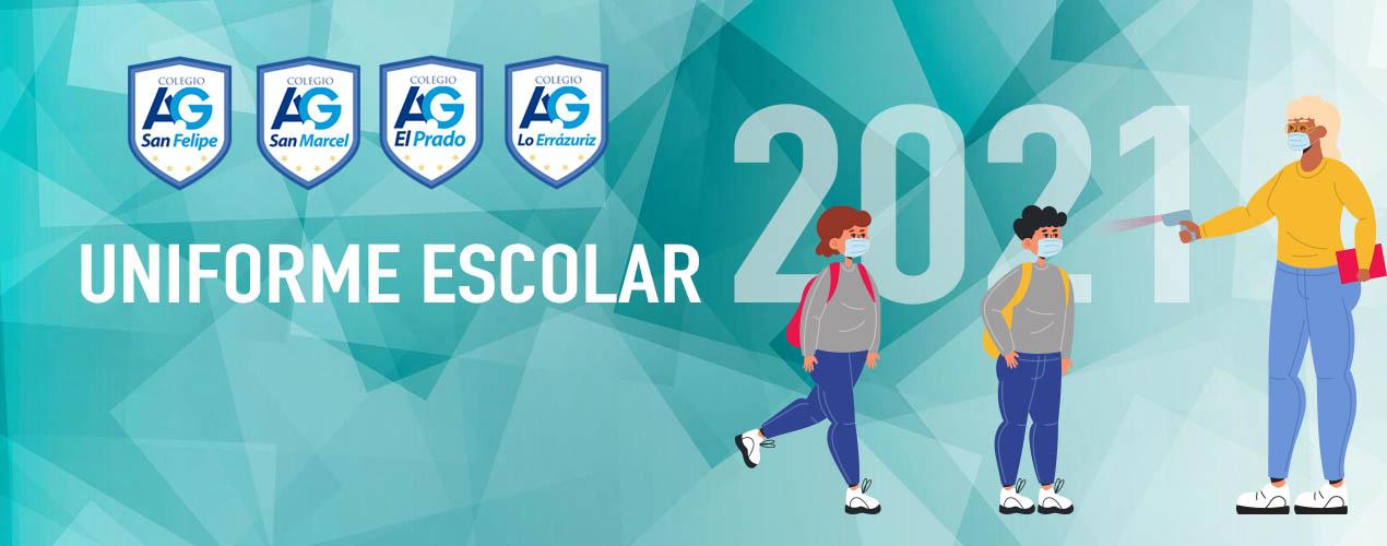 Cambios en el uniforme para este año escolar 2021