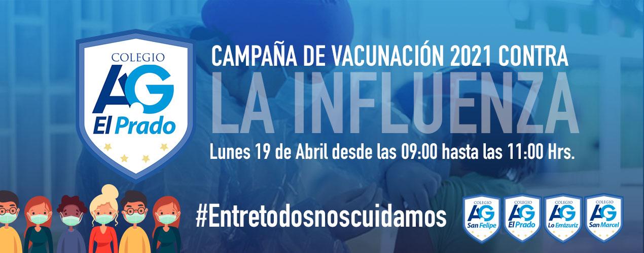Campaña de Vacunación 2021 contra la Influenza en el Establecimiento